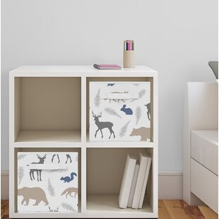 Woodland Animals Fabric Storage Cube BySweet Jojo Designs