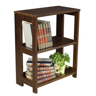 "Belue 28"" High Folding Etagere Bookcase by Rebrilliant SKU:ED344793 Order"