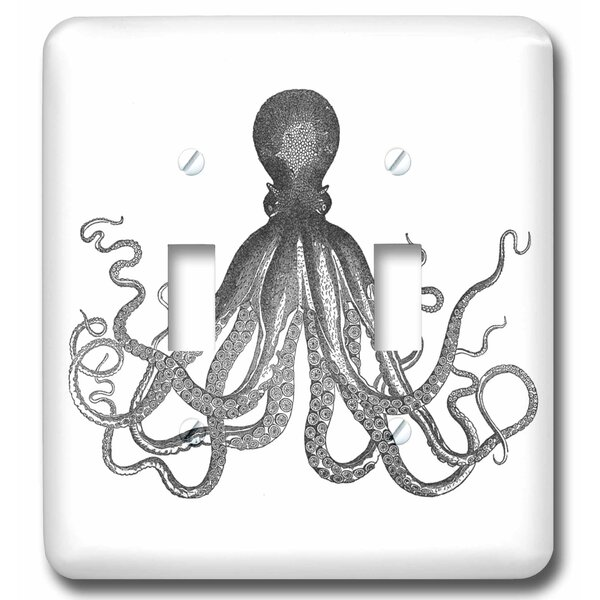 3drose Lord Bodner Kraken Cthulu Nautical Underwater Sea Giant Squid 2 Gang Toggle Light Switch Wall Plate Wayfair
