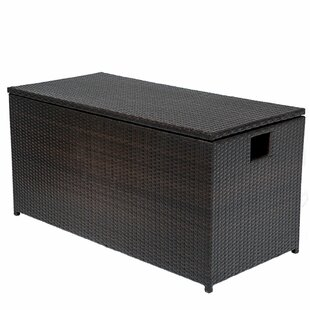Medley 50 Gallon Wicker Deck Box