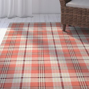 Bonifay Cape Plaid Hand-Woven Pumpkin Patch Rug by Breakwater Bay