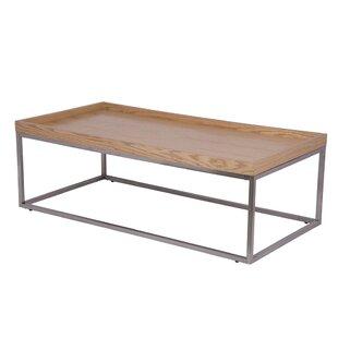 Latitude Run Ketrina Coffee Table with Tray Top