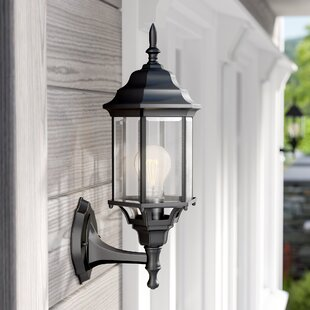 Bayou Outdoor Sconce by Three Posts
