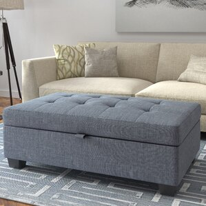 Living Room Ottoman storage ottomans - storage & organization | wayfair