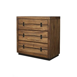 Ricker 3 Drawer Accent Chest by Loon Peak