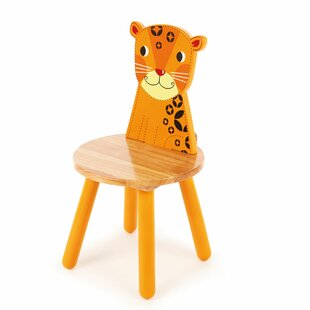 Jungle Leopard Children's Desk Chair By Just Kids