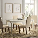 Aria Extendable Dining Table by Kelly Clarkson Home