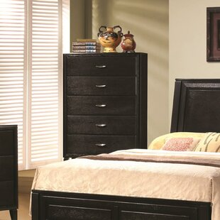 Reviews Kirts Wooden 5 Drawer Chest by Alcott Hill