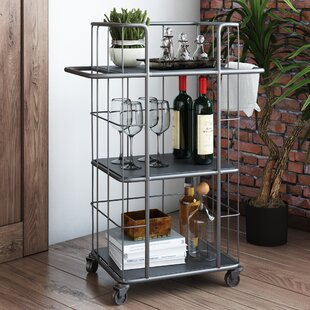 Trent Austin Design Solana Beach Bar Cart