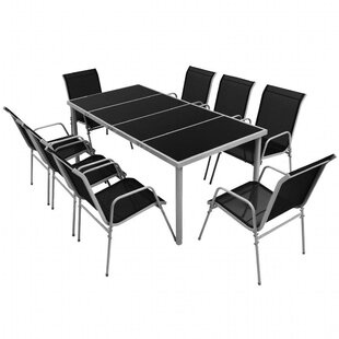 Charles 8 Seater Dining Set By Sol 72 Outdoor