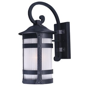 Johnnie 1-Light Outdoor Wall Lantern by Latitude Run