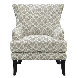Schenck Wingback Chair by Breakwater Bay