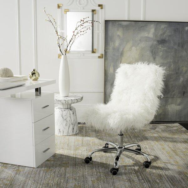 info for 7f876 d38e0 Fuzzy Fur Desk Chair | Wayfair