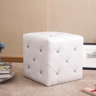Forza Cube Ottoman by Warehouse of Tiffany
