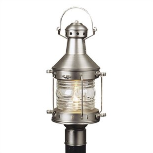 Affordable Price Oakhill Outdoor 1-Light Post Light By Charlton Home