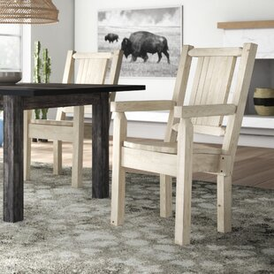 Low priced Abella Hand-Crafted Captain's Solid Wood Dining Chair by Loon Peak Reviews (2019) & Buyer's Guide