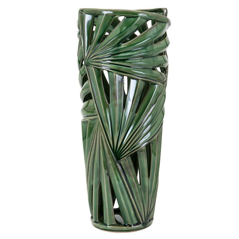 Bay Isle Home Cylinder Green Floor Vase & Reviews | Wayfair Floor Vase Green on green air vase, green pedestal vase, green stone vase, green floor mirror, green japanese vase, green crystal vase, green roseville vase, green metal vase, green ceramic vase, green blown glass vase, green glazed vase, green floor fan, green floor design, green lamp vase, green dragon vase, green flower vase, green pottery vase, green art glass vase, green bamboo vase, green floor chest,