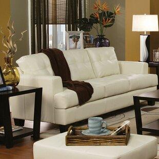 Charlton Home Ptolemy Three Seat Upholstered Sofa