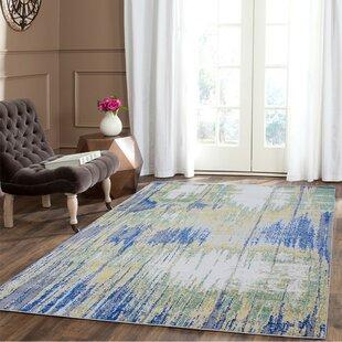 Topps Cotton/Silver Indoor/Outdoor Area Rug