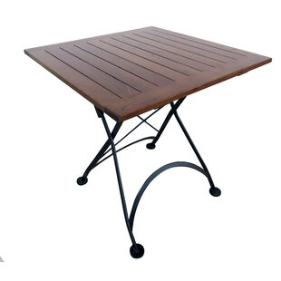 French Caf? Bistro Folding Wood Dining Ta..