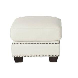 Marilyn Leather Ottoman
