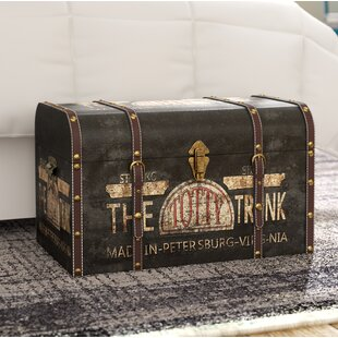 Helina Large Vintage Decorative Home Storage Trunk by Williston Forge