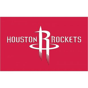 NBA Houston Rockets Polyester 3 x 5 ft. Flag By NeoPlex