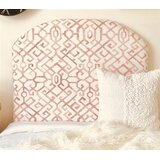 Dewsbury Arched Twin/Twin XL Upholstered Panel Headboard by Harriet Bee