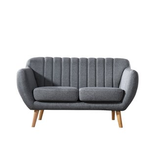 Find for Villalba Sophisticated and Stylish Loveseat by George Oliver Reviews (2019) & Buyer's Guide