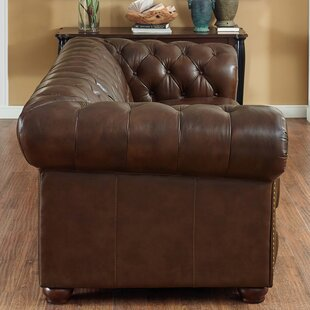 Worcester Leather 2 Piece Living Room Set By Trent Austin Design