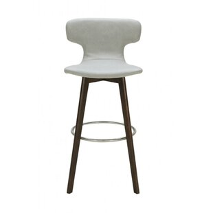 Derrick Leatherette Upholstered Bar Stool..