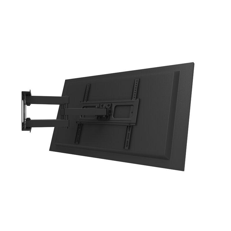 Gforce Full Motion Tv Wall Mount For 37 70 Flat Panel Screens Reviews Wayfair