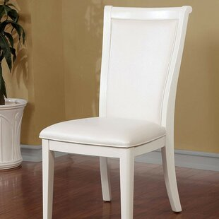 Janet Upholstered Dining Chair (Set of 2) by Rosdorf Park