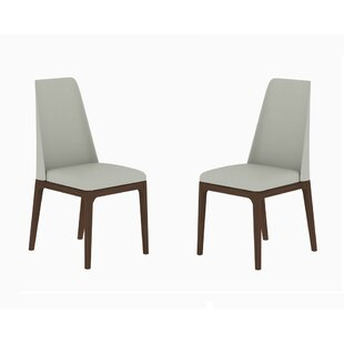 Brayden Studio Hallwood Upholstered Dining Chair (Set of 2)
