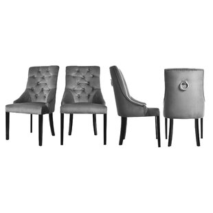 Cheryl Upholstered Dining Chair (Set Of 4) By BelleFierté