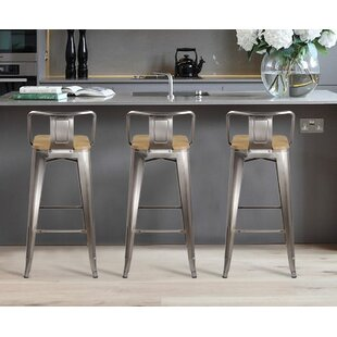 Online Reviews Mctaggart 30 Bar Stool (Set of 2) by Williston Forge Reviews (2019) & Buyer's Guide