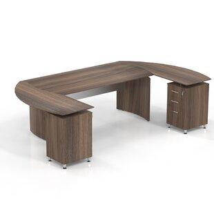 Medina 8-Piece Standard Desk Office Suite by Mayline Group