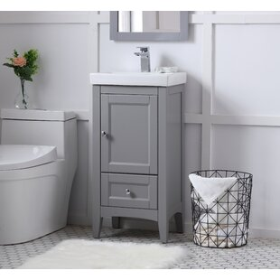 Triplett 17.5 Single Bathroom Vanity Set By Charlton Home