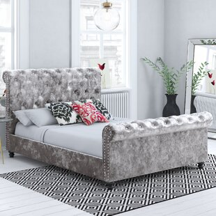 Upholstered Sleigh Bed By Willa Arlo Interiors
