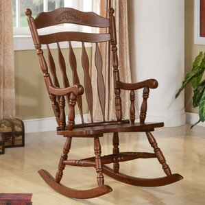 Greenwood Rocking Chair by Loon Peak