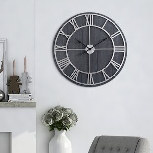 Oversized Morefield Round 28 Wall Clock