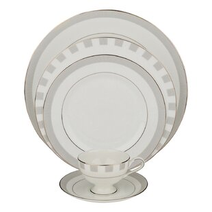 Spectrum 5 Piece Bone China Place Setting, Service for 1 (Set of 4)
