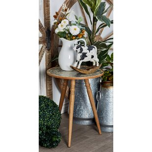 Hanagita Tripod End Table by Bungalow Rose