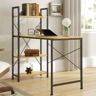 Herald Square Desk with Hutch by Winston Porter