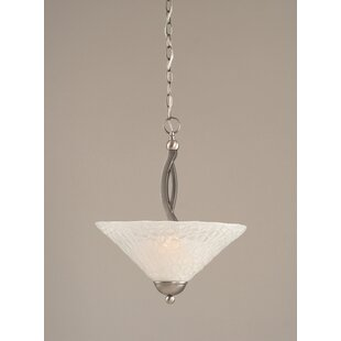 Red Barrel Studio Eisenhauer 2-Light Bowl Pendant