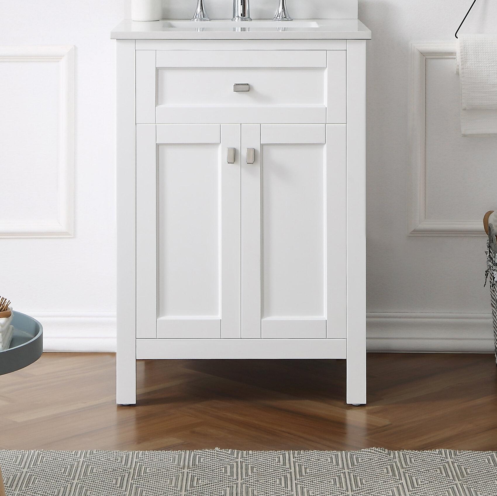 Ebern Designs Tishie 24 Single Bathroom Vanity Set Wayfair