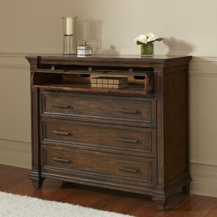 Darby Home Co Bartlette 3 Drawer Media Chest