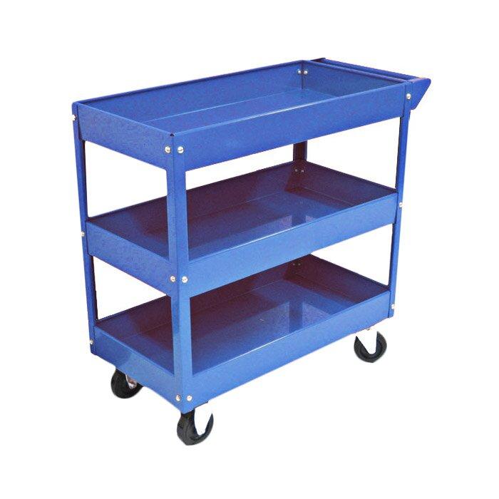 excel metal utility cart & reviews | wayfair