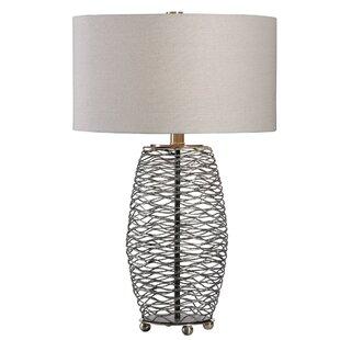 Koutio Wavy Steel Mesh 28 Table Lamp