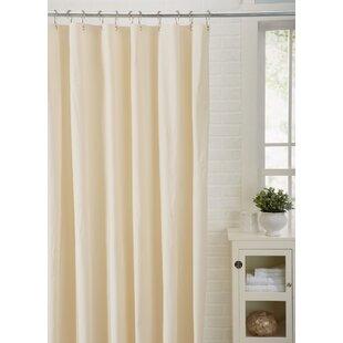 Ivory Cream Shower Curtains